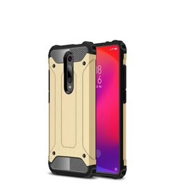 Lunso Lunso - Armor Guard hoes - Xiaomi Mi 9T / 9T Pro - Goud