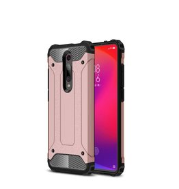 Lunso Lunso - Armor Guard hoes - Xiaomi Mi 9T / 9T Pro - Rose Goud