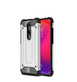 Lunso Lunso - Armor Guard hoes - Xiaomi Mi 9T / 9T Pro - Zilver