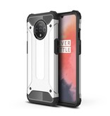Lunso Armor Guard hoes Zilver voor de OnePlus 7T