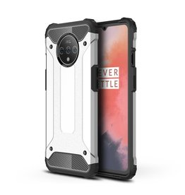 Lunso Lunso - Armor Guard hoes - OnePlus 7T Pro - Zilver