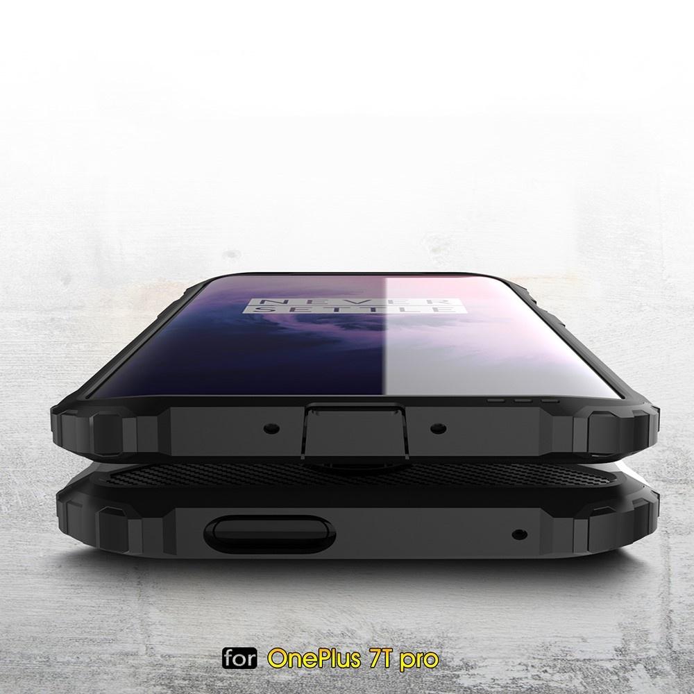 Lunso Armor Guard hoes Rose Goud voor de OnePlus 7T Pro