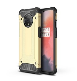 Lunso Lunso - Armor Guard hoes - OnePlus 7T Pro - Goud