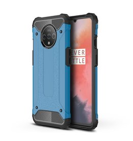 Lunso Lunso - Armor Guard hoes - OnePlus 7T Pro - Lichtblauw