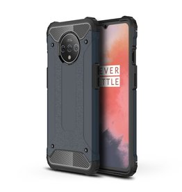 Lunso Lunso - Armor Guard hoes - OnePlus 7T Pro - Donkerblauw