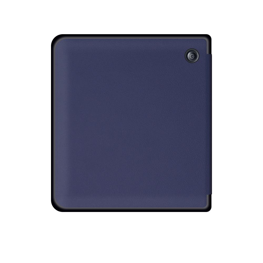 Lunso Sleepcover flip hoes Blauw voor de Kobo Libra H20 (7 inch)