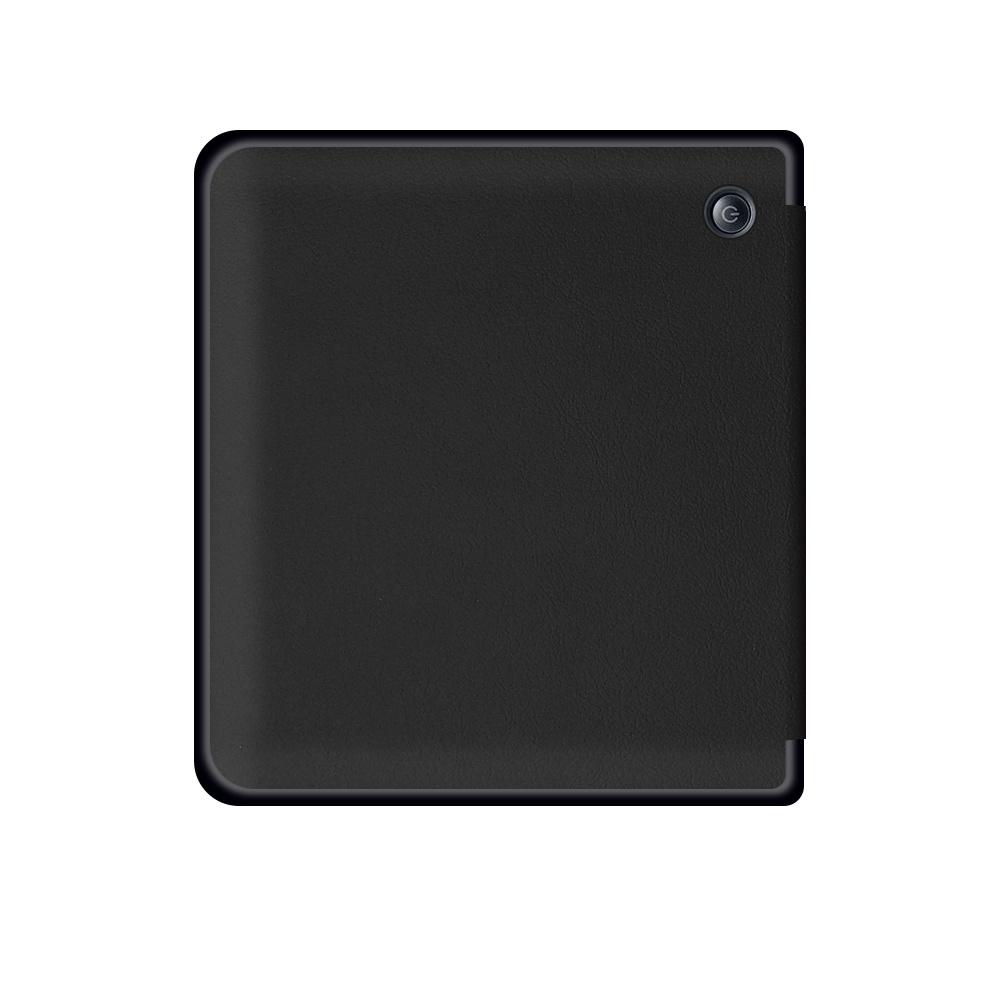 Lunso Sleepcover flip hoes Zwart voor de Kobo Libra H20 (7 inch)