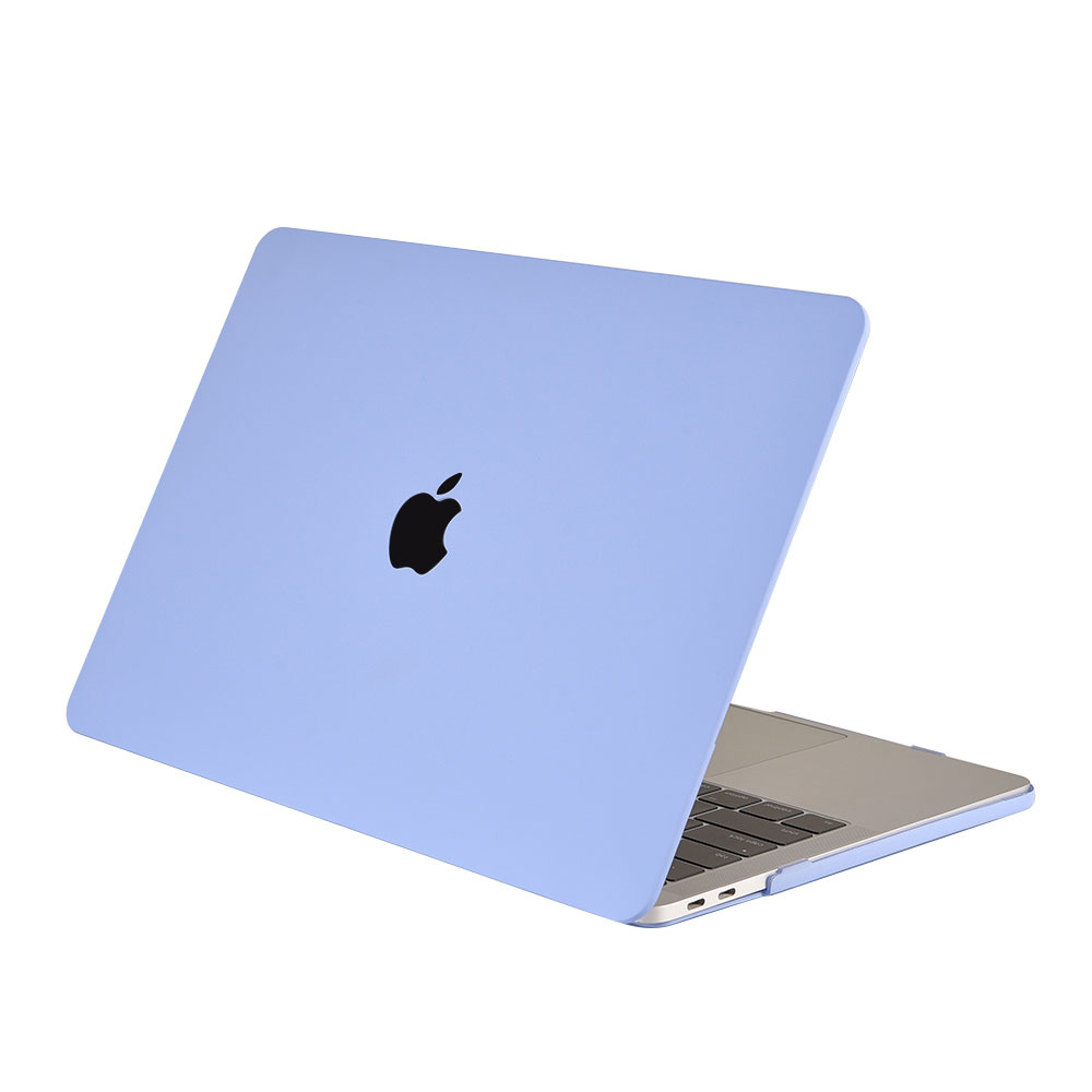 Lunso Cover hoes Candy Tranquility Blue voor de MacBook Pro 15 inch (2016-2019)
