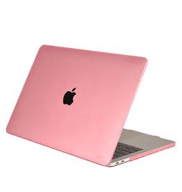Lunso Cover hoes Mat Lichtroze voor de MacBook Air 13 inch (2018-2020)