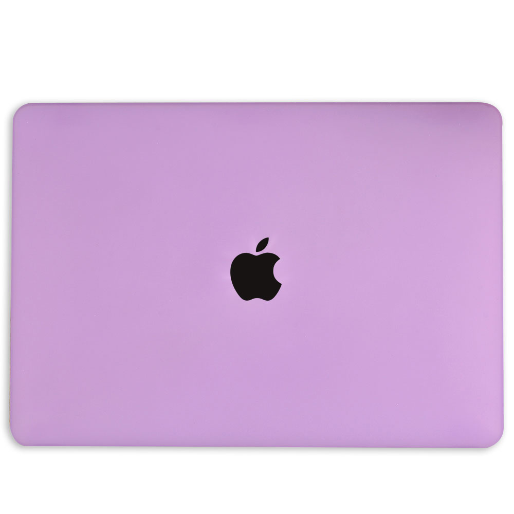 Lunso Cover hoes Mat Paars voor de MacBook Air 13 inch (2018-2019)