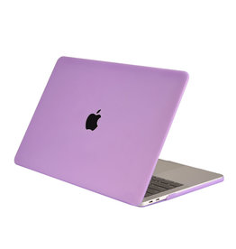 Lunso Lunso - cover hoes - MacBook Air 13 inch (2018-2019) - Mat Paars
