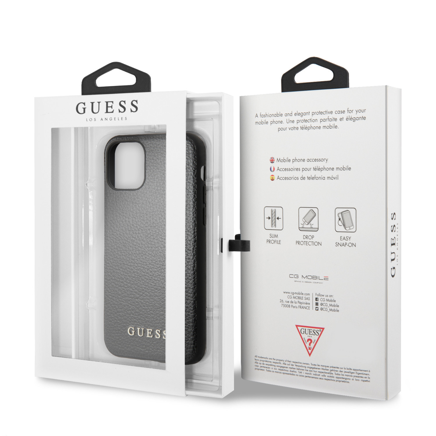 Guess Backcover hoes Zwart voor de iPhone 11 Pro Max