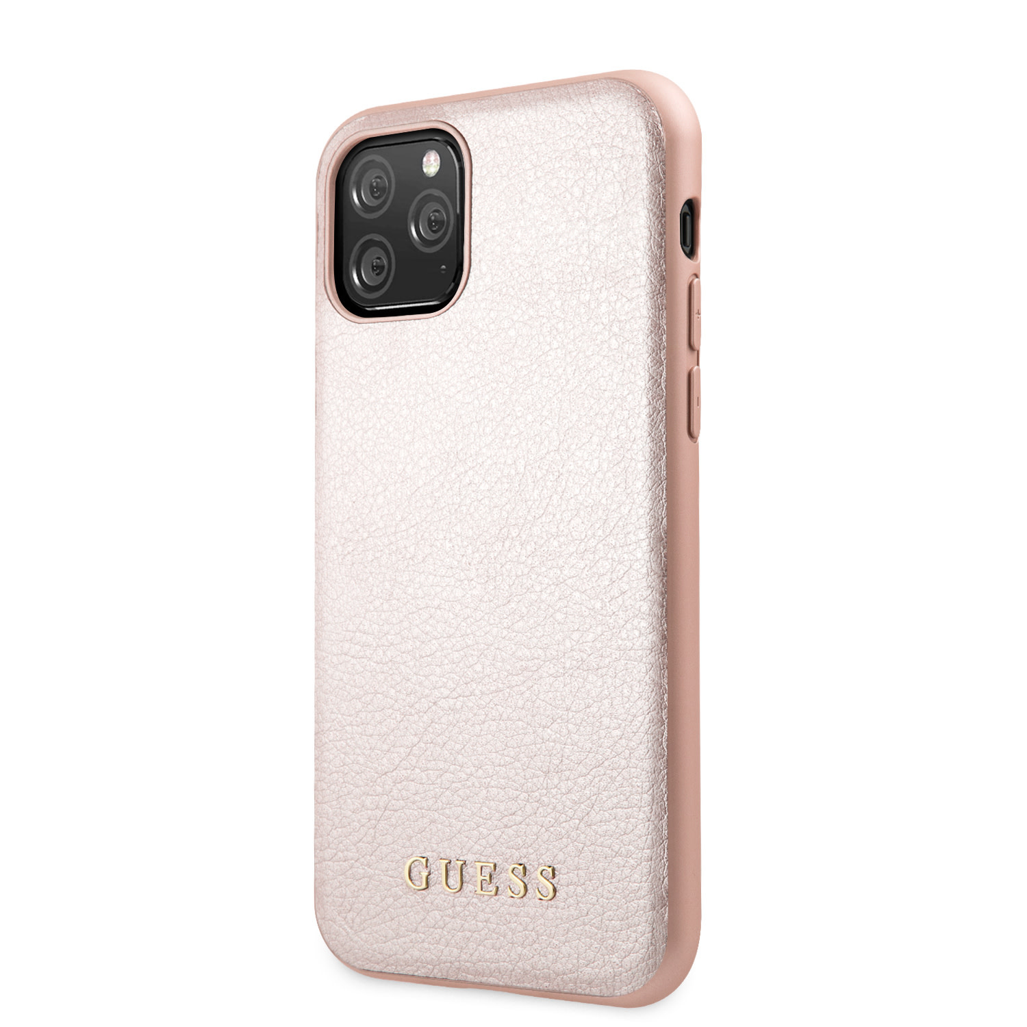 Guess Backcover hoes Rose Goud voor de iPhone 11 Pro Max