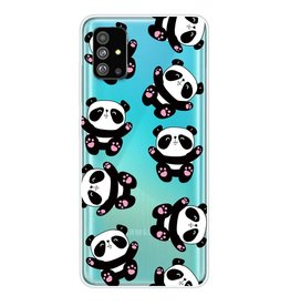 Lunso Softcase hoes - Samsung Galaxy S20 Plus - Panda's