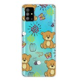 Lunso Softcase hoes Beren voor de Samsung Galaxy S20 Plus -