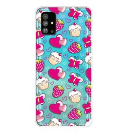 Lunso Softcase hoes - Samsung Galaxy S20 Plus - Hartjes