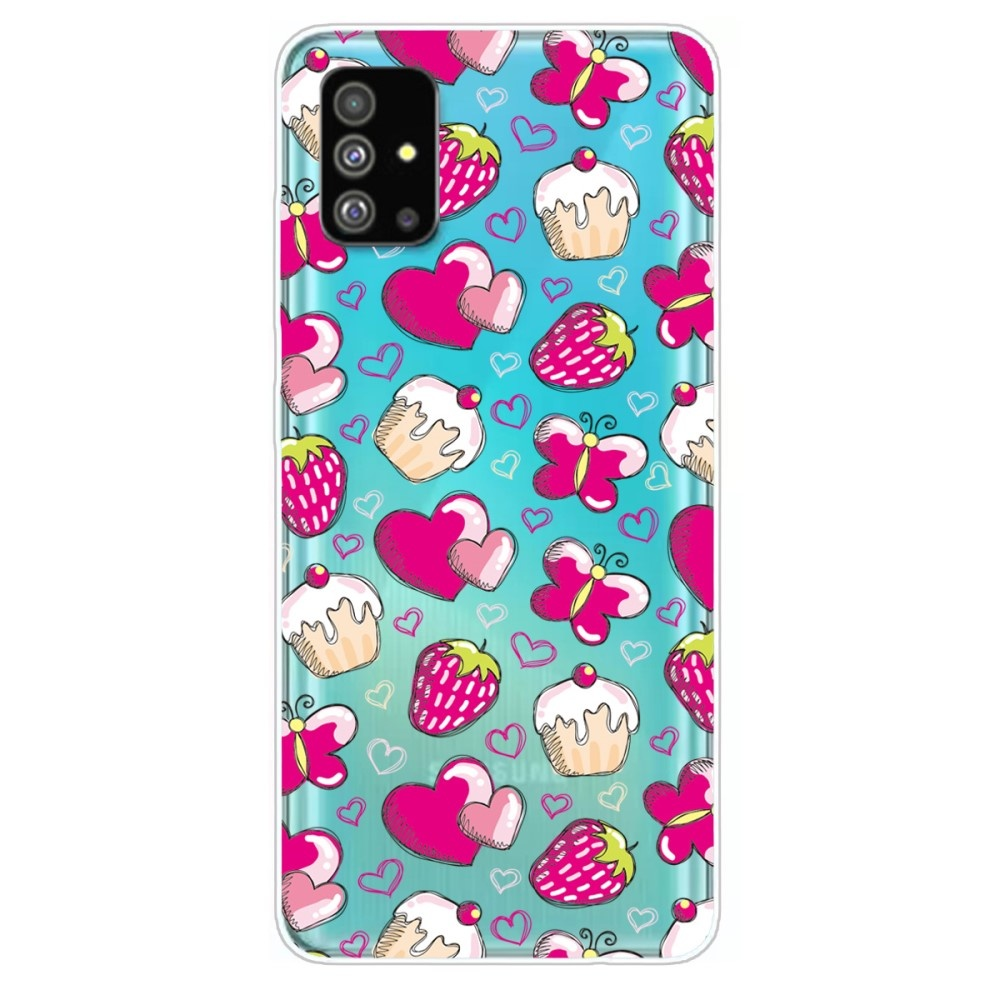 Lunso Softcase hoes Hartjes voor de Samsung Galaxy S20 Plus