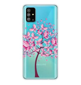 Lunso Softcase hoes - Samsung Galaxy S20 Plus - Vlinderboom