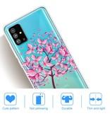 Lunso Softcase hoes Vlinderboom voor de Samsung Galaxy S20 Plus