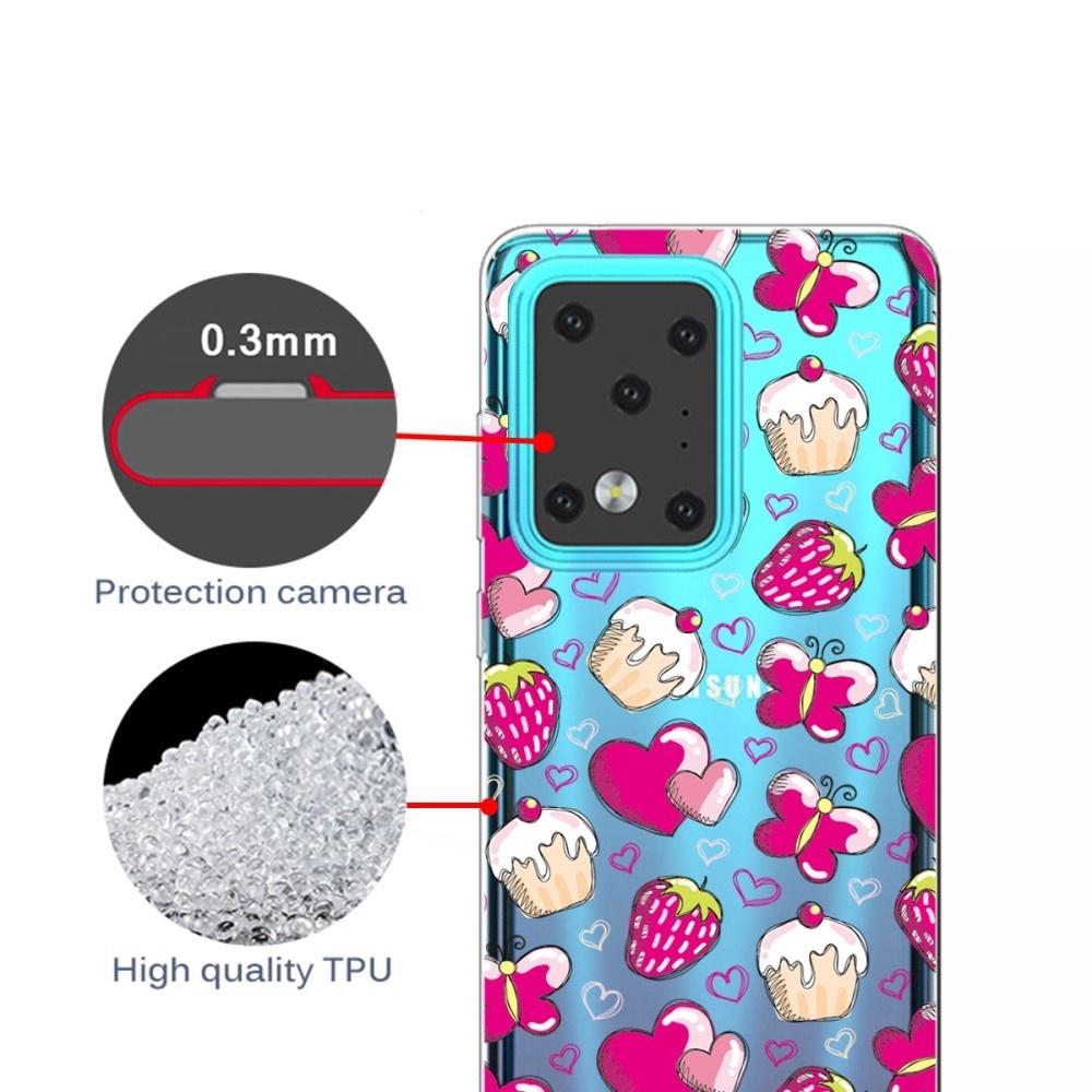 Lunso Softcase hoes Hartjes voor de Samsung Galaxy S20 Plus