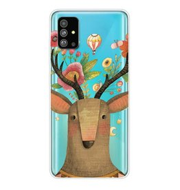 Lunso Softcase hoes - Samsung Galaxy S20 Plus - Eland