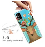 Lunso Softcase hoes Eland voor de Samsung Galaxy S20 Plus