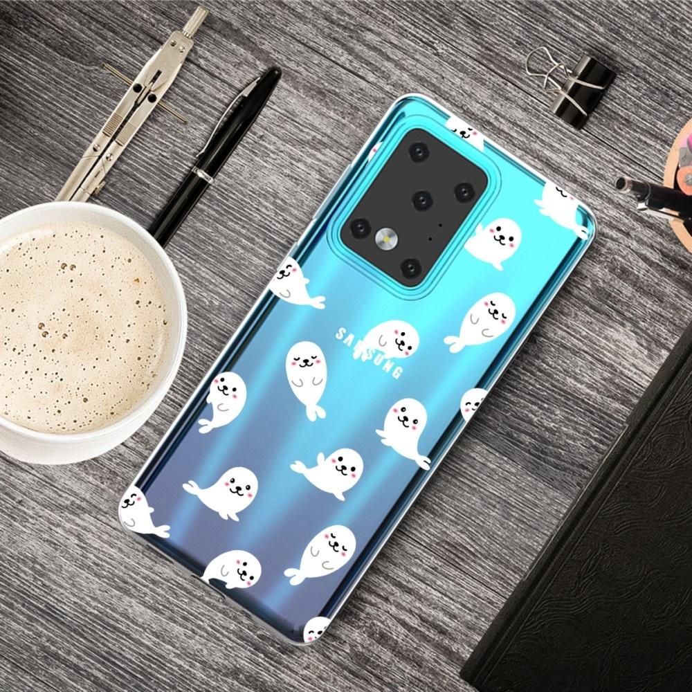 Lunso Softcase hoes Zeehonden voor de Samsung Galaxy S20 Ultra