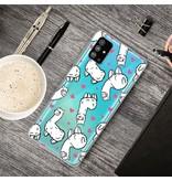 Lunso Softcase hoes Alpaca voor de Samsung Galaxy S20 Plus