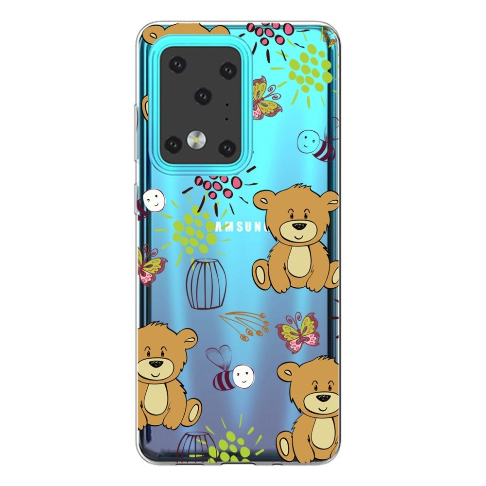 Lunso Softcase hoes Beren voor de Samsung Galaxy S20 Ultra