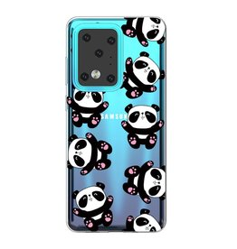 Lunso Softcase hoes - Samsung Galaxy S20 Ultra - Panda's
