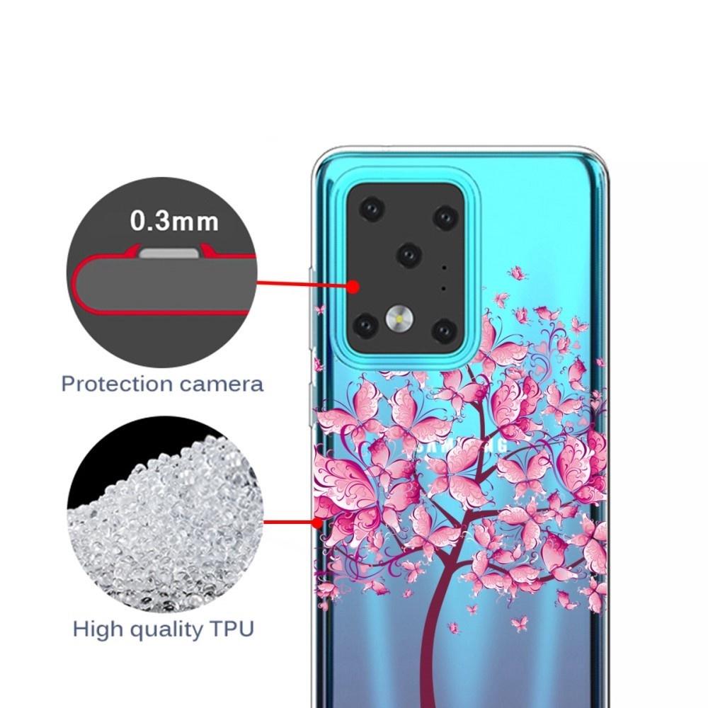 Lunso Softcase hoes Vlinderboom  voor de Samsung Galaxy S20 Ultra