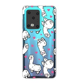 Lunso Softcase hoes - Samsung Galaxy S20 Ultra -  Alpaca