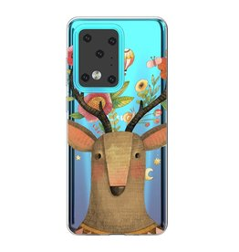 Lunso Softcase hoes - Samsung Galaxy S20 Ultra -  Eland
