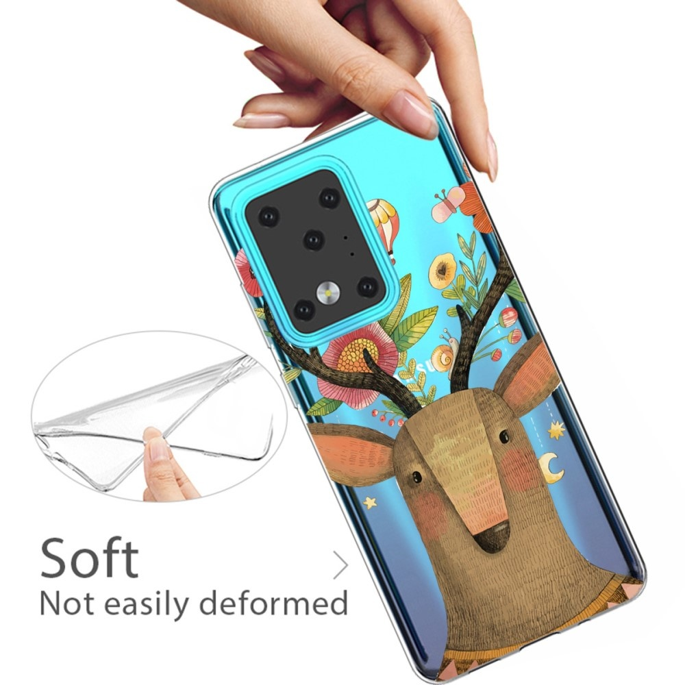 Lunso Softcase hoes Eland  voor de Samsung Galaxy S20 Ultra