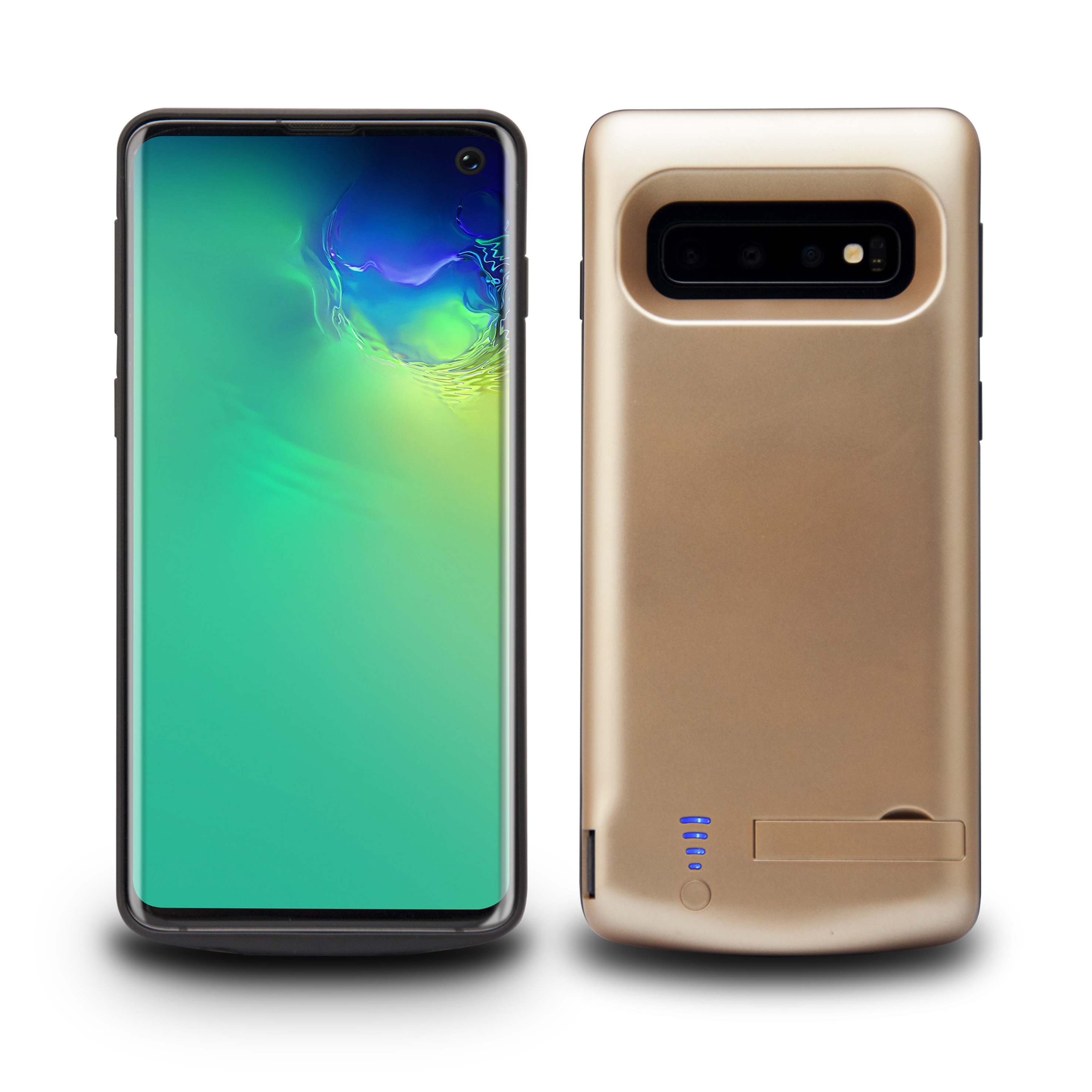 Lunso Battery Power Case hoes 6000 mAh Goud voor de Samsung Galaxy S10