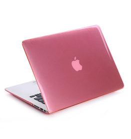 Lunso Lunso - cover hoes - MacBook Pro 15 inch (2012-2015) - Glanzend Lichtroze