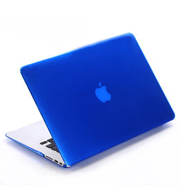 Lunso Lunso - cover hoes - MacBook Pro 15 inch (2012-2015) - Glanzend Blauw