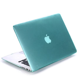 Lunso Lunso - cover hoes - MacBook Pro 15 inch (2012-2015) - Glanzend Groen