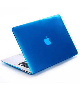 Lunso Lunso - cover hoes - MacBook Pro 15 inch (2012-2015) - Glanzend Lichtblauw