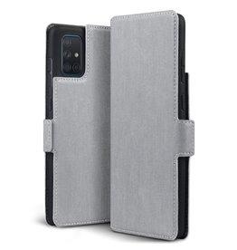 Qubits Qubits - slim wallet hoes - Samsung Galaxy A71 - Grijs