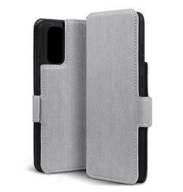 Qubits Qubits - slim wallet hoes - Samsung Galaxy S20 - Grijs