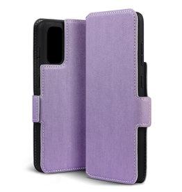 Qubits Qubits - slim wallet hoes - Samsung Galaxy S20 - Paars