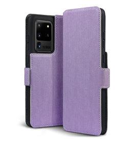 Qubits Qubits - slim wallet hoes - Samsung Galaxy S20 Ultra - Paars