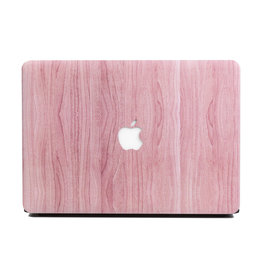 Lunso Lunso - cover hoes - MacBook Pro 13 inch (2016-2019) - Houtlook Roze