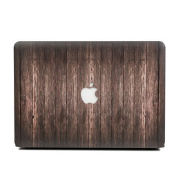 Lunso Lunso - cover hoes - MacBook Pro 13 inch (2016-2019) - Houtlook Bruin