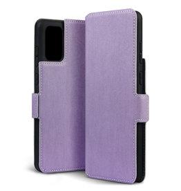Qubits Qubits - slim wallet hoes - Samsung Galaxy S20 Plus - Paars