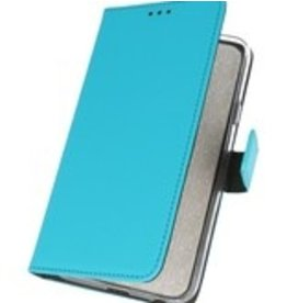Lunso Bookwallet hoes - Nokia 6.2 - blauw