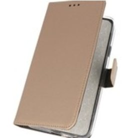 Lunso Bookwallet hoes - Nokia 6.2 - goud