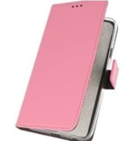 Lunso Bookwallet hoes - Nokia 6.2 - Roze