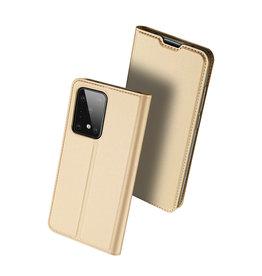 Dux Ducis Dux Ducis - pro serie slim wallet hoes - Samsung Galaxy S20 Ultra - Goud